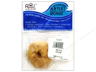 art, school & office: Royal Sea Silk Sponge - 2 - 2 1/2 in.