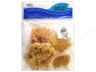 Art School & Office: Royal & Langnickel Combination Sponge Set 4 pc.