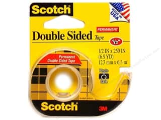 "Scotch Tape Double Stick 1/2""x 250"""