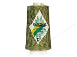 Signature 100% Cotton Thread 3000 yd. #M85 Variegated Grassy Greens