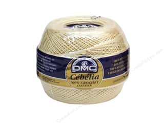 yarn & needlework: DMC Cebelia Crochet Cotton Size 20 #712 Cream