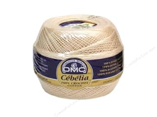 yarn & needlework: DMC Cebelia Crochet Cotton Size 20 Ecru