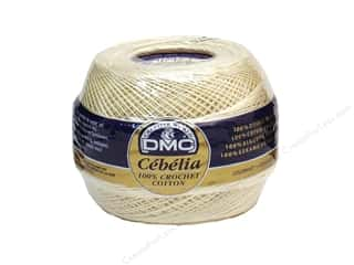 yarn & needlework: DMC Cebelia Crochet Cotton Size 30 #712 Cream