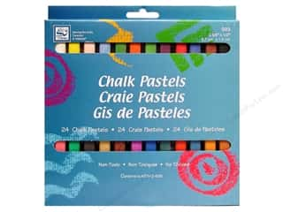 craft & hobbies: Loew Cornell Chalk Pastels 24pc