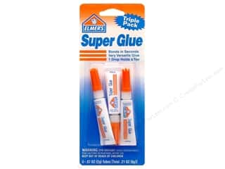 craft & hobbies: Elmer's Super Glue 3 pc. Tubes