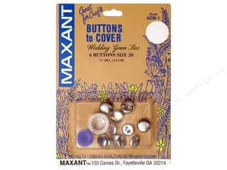 Maxant Button & Supply: Maxant Cover Button Kit Size 20