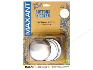 Maxant Cover Button Kit 1 7/8 in. 2 pc.