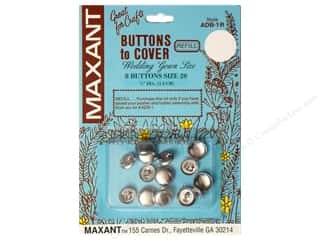 Maxant Button & Supply: Maxant Cover Button Refill Size 20