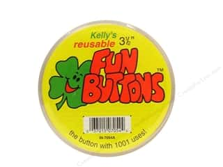 craft & hobbies: Kelly's Fun Button 3 1/2 in.
