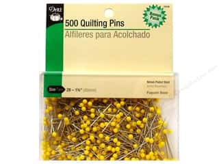 Quilting Pins Bonus Pack by Dritz Size 28 Yellow Head 500pc