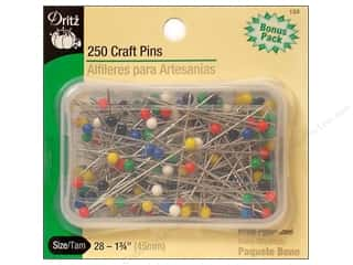 craft & hobbies: Dritz Craft Pins 250 pc. Size 28