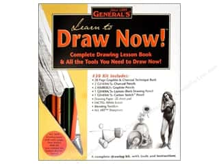 craft & hobbies: General's Learn to Draw Now Kit