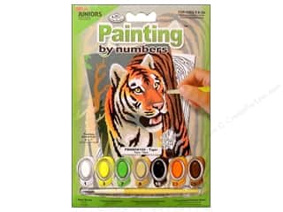 Royal Rub Ons: Royal Paint By Number Kit Mini Tiger