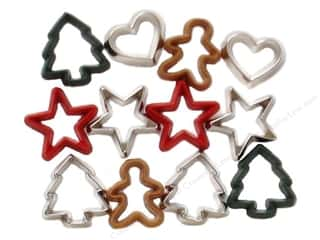 Clearance Wilton Cookie Cutters: Jesse James Dress It Up Embellishments Christmas Collection Cookie Cutters