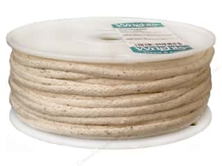cording: Wrights Cotton Piping Cord 1/4 in. x 50 yd. Natural (50 yards)