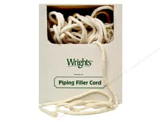 Wrights: Wrights Cotton Piping Cord 3/8 in. x 100 yd. Natural (100 yards)