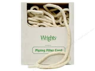 Wrights Cotton Piping Cord 1/2 in. x 100 yd. Natural (100 yards)