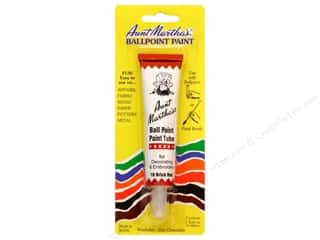 craft & hobbies: Aunt Martha's Ballpoint Paint Tube 1 oz. Brick