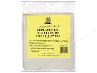 yarn & needlework: Aunt Martha's Replacement Blotters / Craft Towels 6 pc.