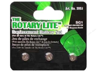 sewing & quilting: Clover Rotary Lite Replacement Battery 3 pc.