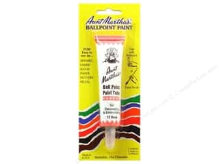 Aunt Martha's Ballpoint Paint Tube 1 oz. Rose