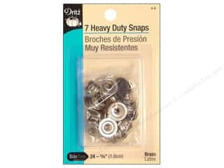 Heavy Duty Snap Fasteners by Dritz 5/8 in. Navy 7 pc.