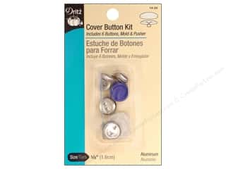 cover button: Cover Button Kit by Dritz 5/8 in.