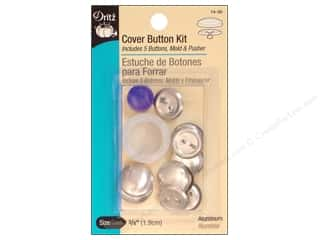 Buttons: Dritz Cover Button Kit - 3/4 in.