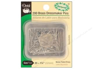 Dressmaker Pins by Dritz Size 20 200pc.