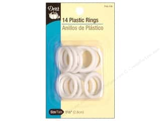 yarn: Plastic Rings by Dritz 1 1/8 in. 14pc.