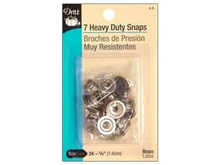 Dritz Heavy Duty Snaps Size 24 7 pc. Navy