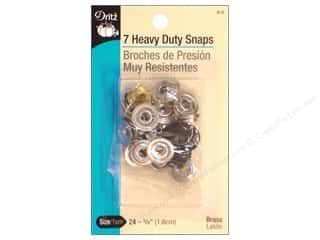 sewing & quilting: Dritz Heavy Duty Snaps Size 24 7 pc. Black
