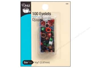 scrapbooking & paper crafts: Eyelets by Dritz 5/32 in. Multi 100 pc.
