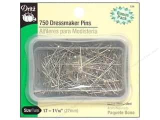 sewing & quilting: Dressmaker Pins by Dritz Size 17 Steel 750 pc.