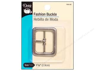 Dritz Fashion Buckle 1 1/8 in. Nickel