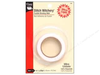 Yard Sale Stitch Witchery by Dritz : Stitch Witchery Fusible Bonding Web by Dritz Ultra-light 5/8 in. x 20 yd.