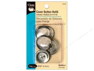 Buttons: Dritz Cover Button Refill - 1 1/8 in. 3 pc.
