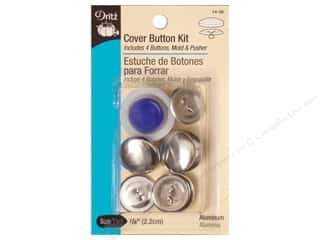 cover button: Cover Button Kit by Dritz 7/8 in.