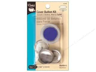 cover button: Cover Button Kit by Dritz 1 1/8 in.