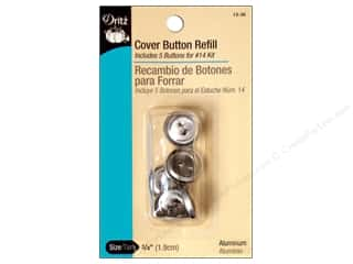 cover button: Cover Button Refill by Dritz 3/4 in. 5 pc.