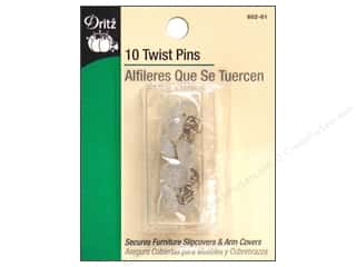 flat head pins: Twist Pins by Dritz 10pc