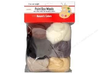 yarn: Colonial Needle Paint Box Wools 6 pc. Natures Colors