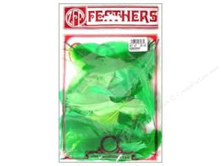 Feathers goose: Zucker Feather Goose Satinettes .25oz Grass
