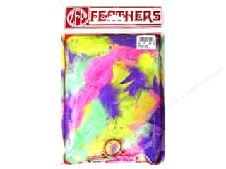 craft & hobbies: Zucker Feather Turkey Flats Feathers 1/2 oz. Assorted Bright