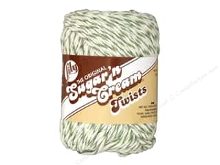 yarn & needlework: Sugar 'n Cream Yarn 95 yd. #20244 Twists Green