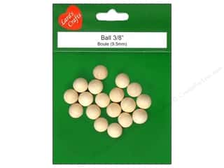 Lara's: Lara's Wood Ball 3/8 in. 18 pc.