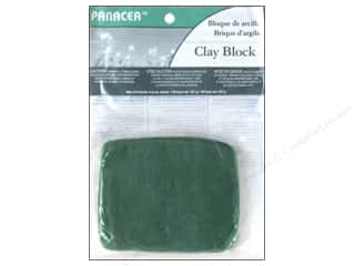 craft & hobbies: Panacea Floral Sticky Clay 4.5 oz. Green