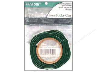 floral & garden: Panacea Floral Sticky Clay Roll 1/2 in. x 4 ft. Green