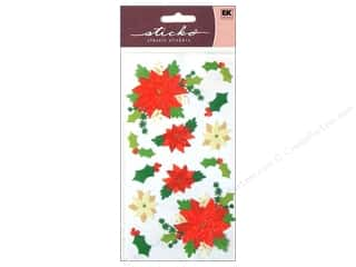 scrapbooking & paper crafts: EK Sticko Stickers Poinsettias