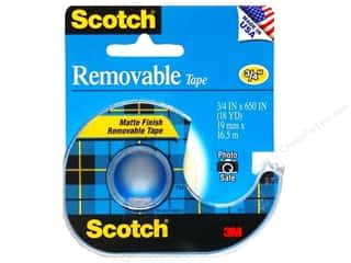 "Scotch Tape Removable 3/4""x 650"""